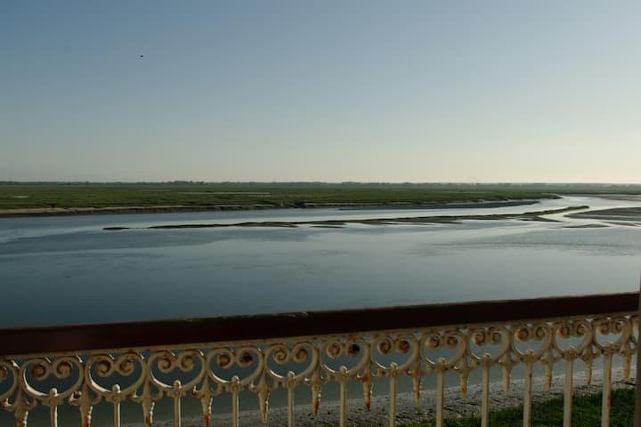 Vue exceptionnelle sur la Baie de Somme