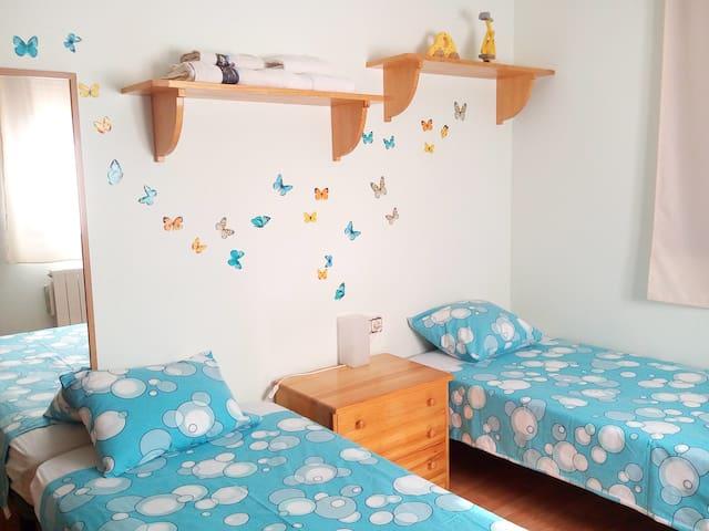 Habitación 2 camas individuales nº2