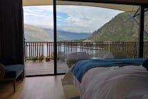 湖畔景舍房间内部