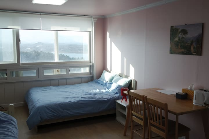 JOONHOUSE LAKEVIEW3 5Minutes From TERMINAL by walk - Beon yeong-ro, Sokcho-si - Huoneisto