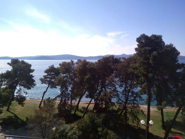 Spacious flat with a fantastic sea view!!! - Zadar - Apartment