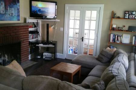 4 bedroom 2 bath home w fireplace Narberth PA - 纳伯斯(Narberth) - 独立屋
