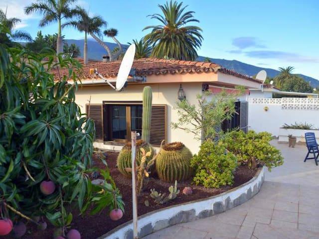 Ferienhaus mit Pool, Garten und Terrasse im Norden bei La Orotava - 6643