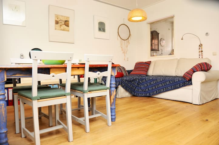 Cozy house in calm North area | Free parking - Amsterdam - Dům