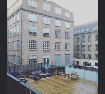 Lovely room in central Nørrebro - 코펜하겐(Copenhagen) - 아파트