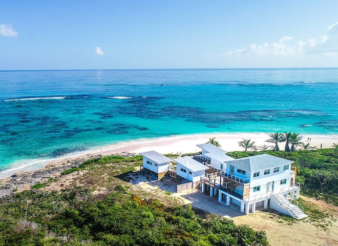 New 5+ Bedroom, Beachfront Resort, Secluded Beach