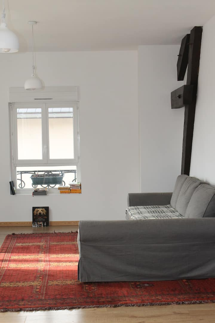 Appartement calme et lumineux