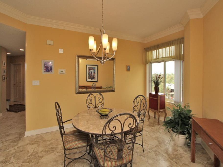 Dining Area at 2501 Sea Crest