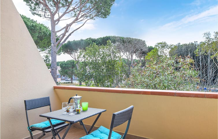Holiday apartment with 1 room on 37m² in Principina a Mare