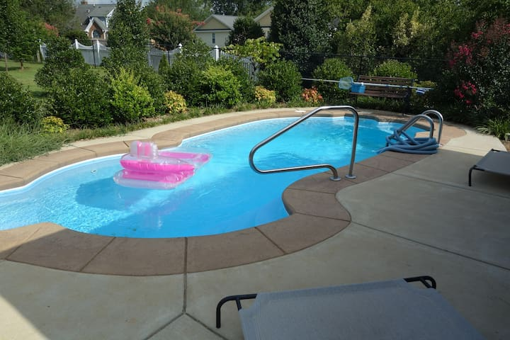 Chill by your own private pool!