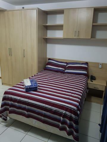 FLAT BIARRITZ SETOR HOTELEIRO NORTE QUARTO 106