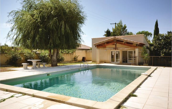Nice home in Sarrians with WiFi and 4 Bedrooms
