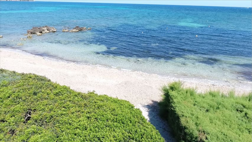 Holiday villa Sa Copinya with private access to the Port Nou sandy beach