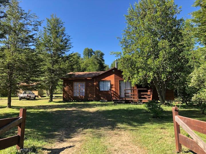 Cabaña cercana a lago Caburgua!