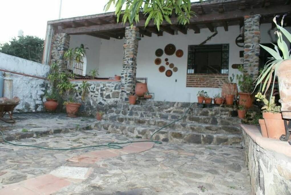 Terraza casa del sol
