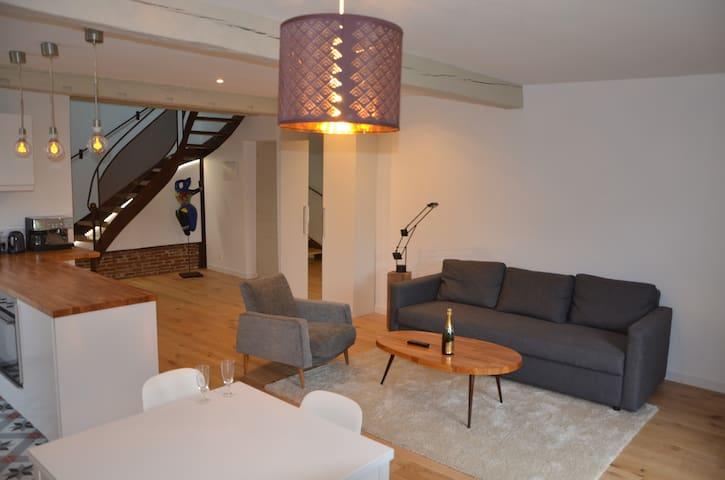 Loft avec mezzanine 15 km Toulouse Est - Vallesvilles - Natuur/eco-lodge