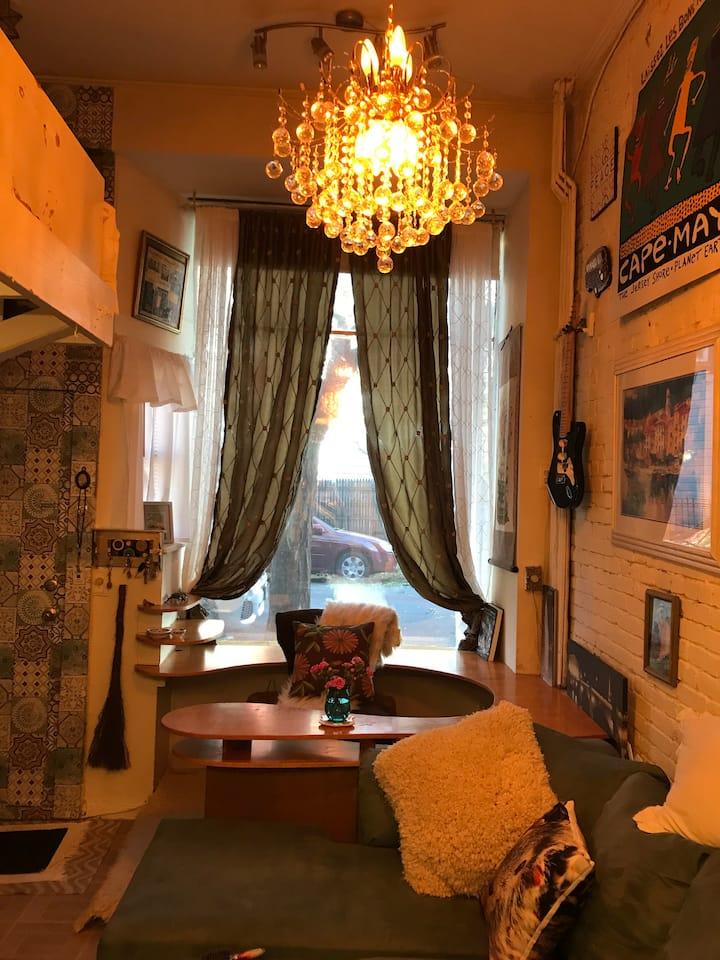 Cozy Studio in the Heart of Hoboken.
