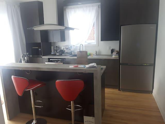 PL's appartment Québec city