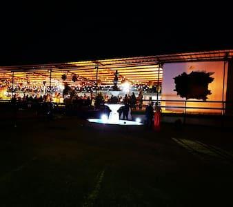 CABAÑA HIPICO ENTREVERDE - Los Gavilanes - 小木屋