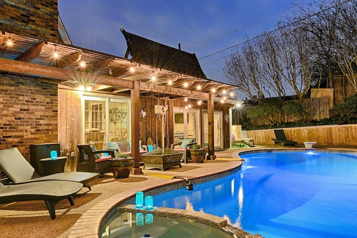 Heated Pool HOT TUB Two Game Rooms NO PARTIES