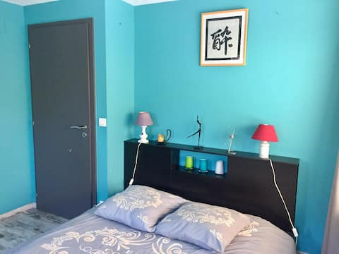 Chambre avec salle d'eau privative à Saverne