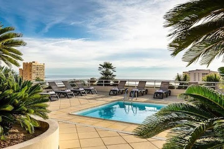 Beautiful 1 bedroom appartment 50m from Monaco