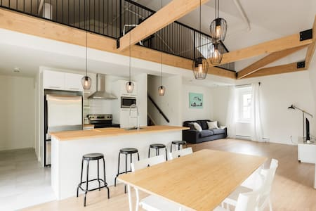 New apartment in downtown quebec city (PARKING) B