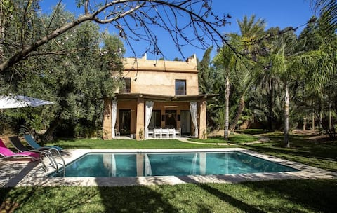 The Secret Palace with private pool, Kasbah fields