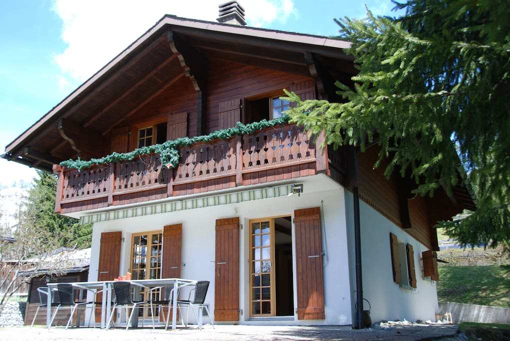 lovely and complete chalet chalets 224 louer 224 les diablerets waadt suisse