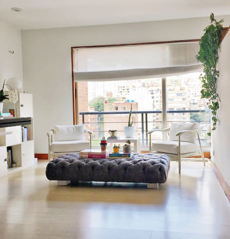 1BR Loft in LaCabrera/BEST LOCATION-PANORAMIC VIEW - Bogotá - Loft