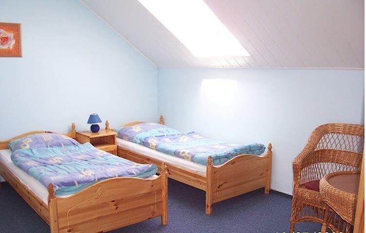 Vier Doppelzimmer - Krola-Sielaw 8, Zimmer 4 - Mikołajki - Byt