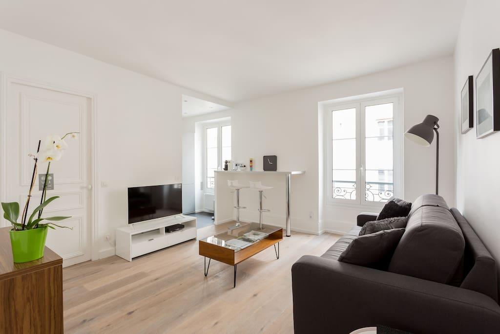 Appartement cosy roland garros appartements louer for Appartement atypique a louer ile de france