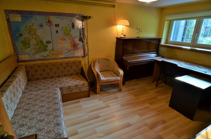 Private room (floor) in villa neighborhood - Kraków - Huis