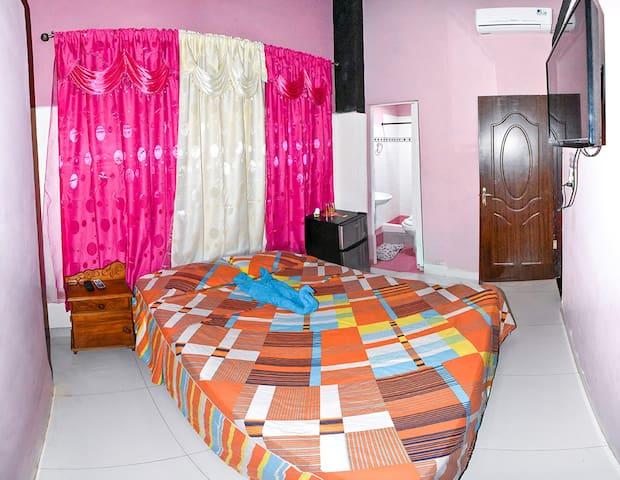 Vista de un cuarto