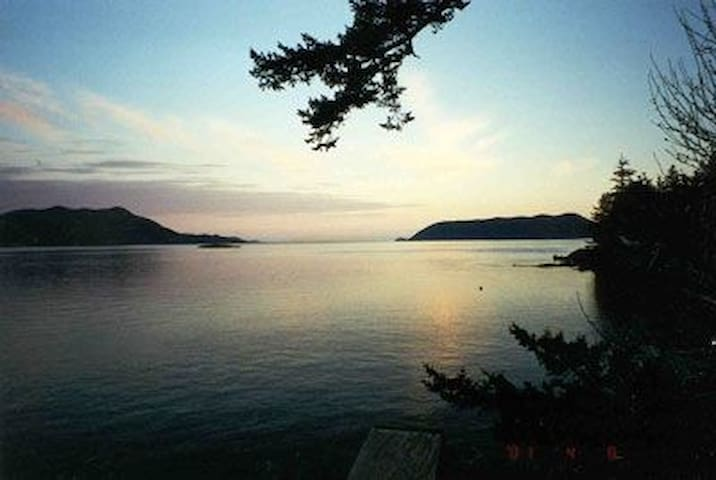 Orcas Island Waterfront Vacation Home Private