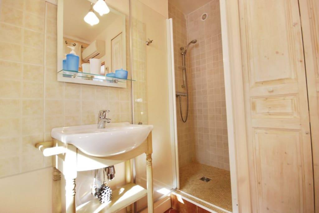 Chambre 1 avec douche