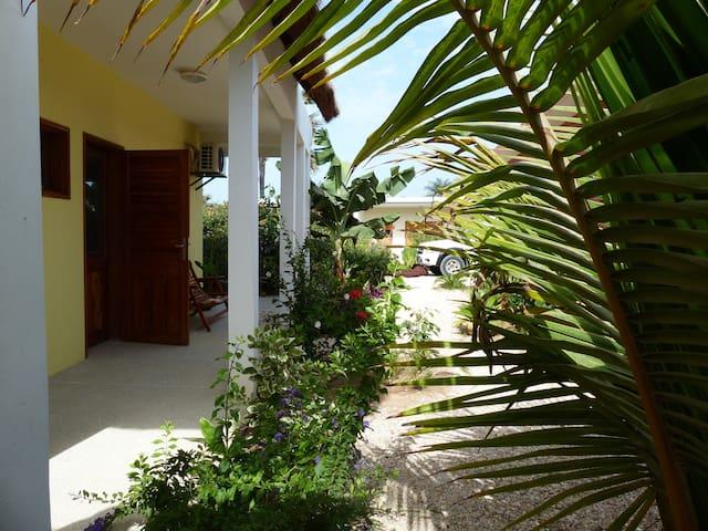 Studio LEMON avec piscine à 2 pas de la plage
