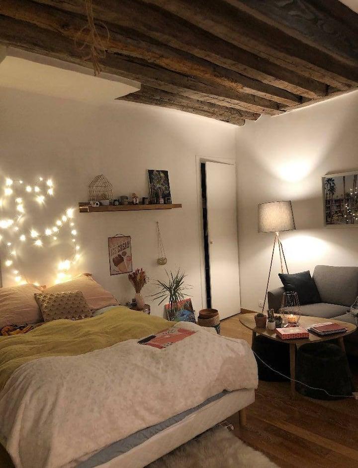 Cosy Studio à Montorgueil