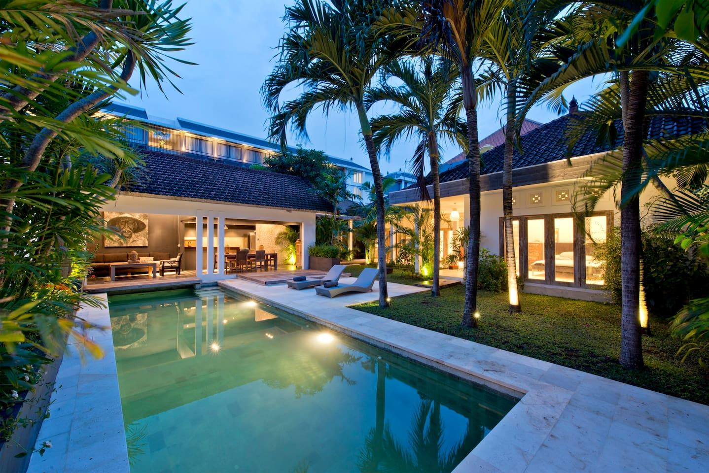 Beautiful Villa - Perfect Location - Houses for Rent in Kuta, Bali,  Indonesia