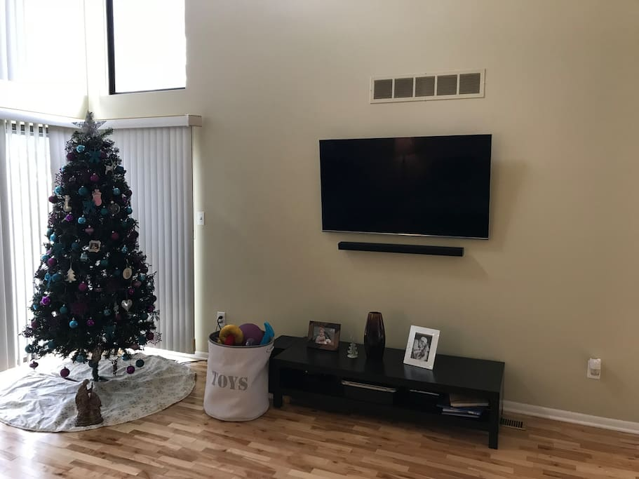 TV/Cable Box in Living Room