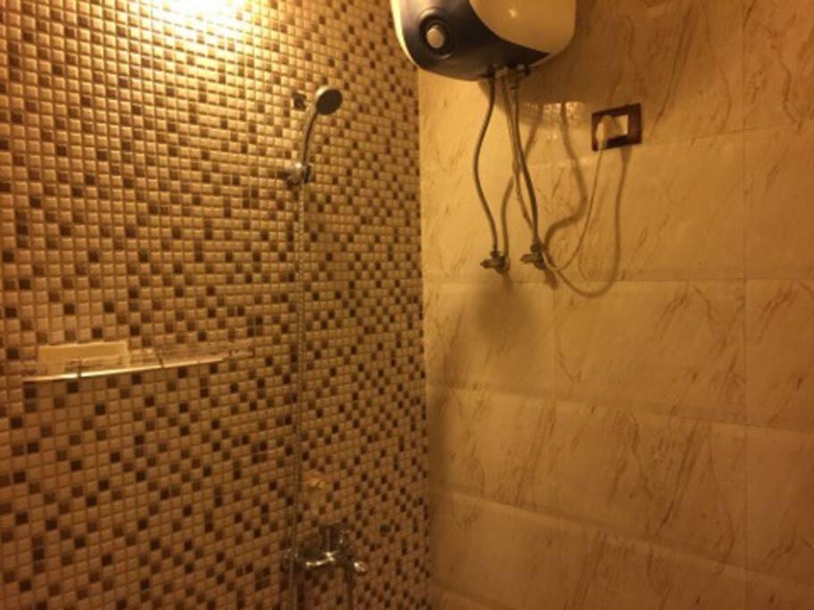 Hot water shower :)