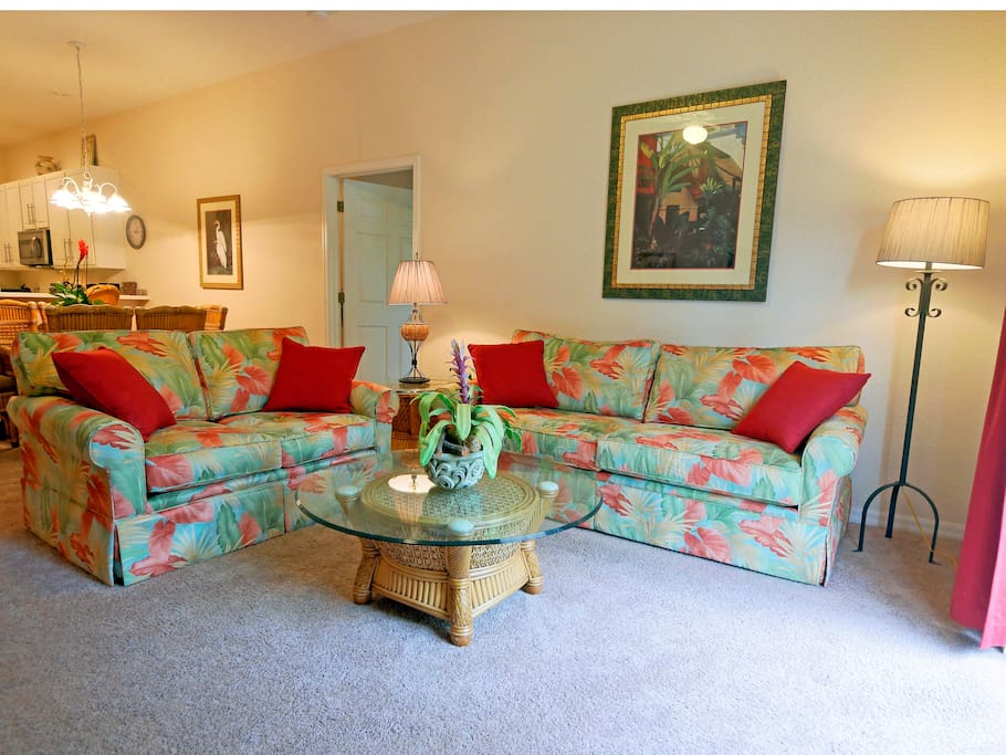 New sofas where the 3-bed turns into a queen sofa bed with memory foam mattress