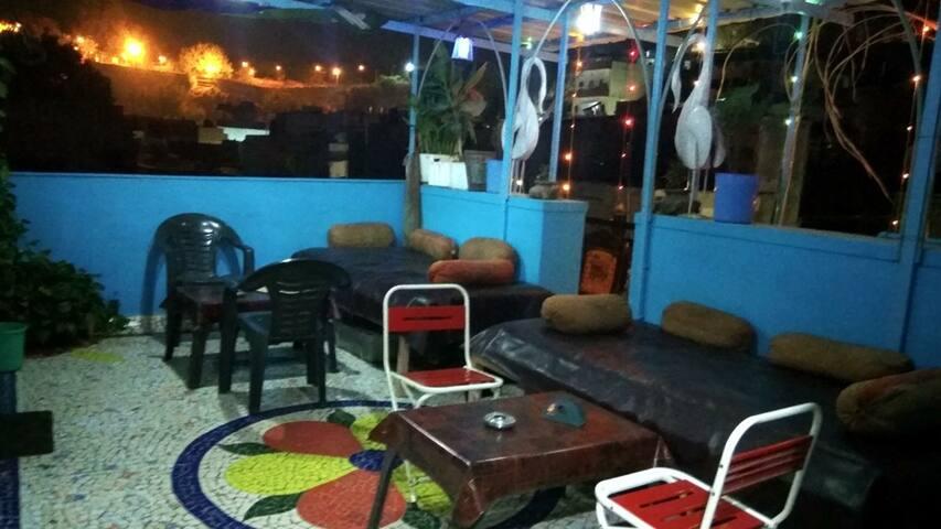 Casa Azul 2 Room With Terrace in Blue City