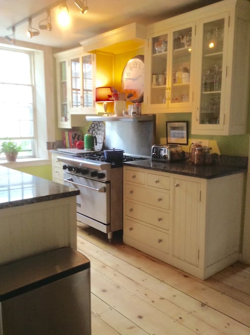 Professionally appointed kitchen