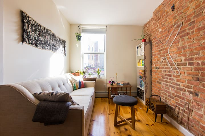 Cozy, private room near Prospect Park & BK Museum