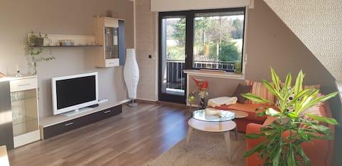 Familienfreundliche Wohnung mit Balkon und WIFI