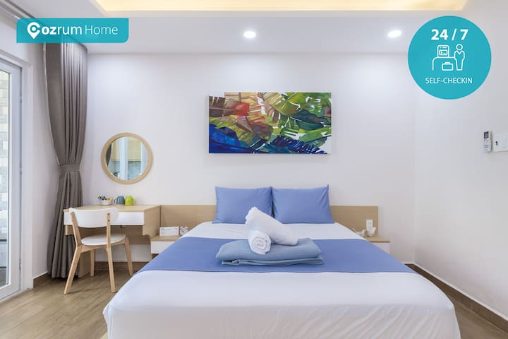 Cozrum Homes - 1BR Yoga Studio @Nature life @D1