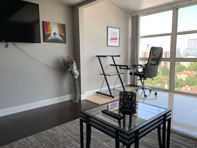 2 BR PENTHOUSE VIEW OF ATLANTA & 1 MILE FROM LENOX
