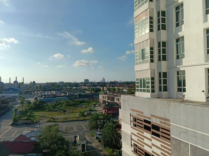 Anjung Vista Apartment for medicstudent, renovated