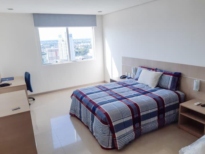 Charmoso Flat No Condomínio Edifício Apart Hotel